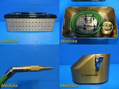 Medtronic Midas Rex Legend V03 Pneumatic Handpiecebone Millhose W Case 20992