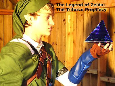 LINK Costume Twilight Princess Zelda Cosplay Quality Custom Made IN USA Any Size - $150.00