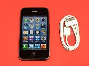 Apple iPhone 3GS - 8GB - (MC640LL/A) Black (AT&T) iOS 6.1.6