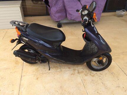 Yamaha moped scooter
