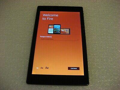 Amazon Kindle Fire HD 8, 5th Generation 8in 16GB Tablet - SG98EG- Black