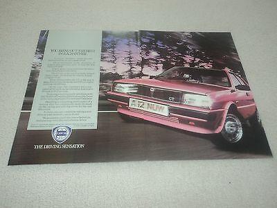 Lancia Delta GT - Advertisement