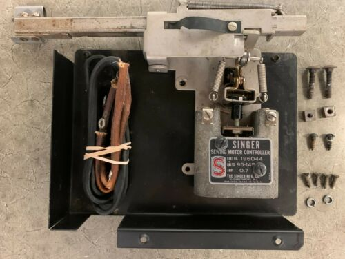 SINGER Sewing Machine Cabinet Foot Controller Permanent Installation 196044