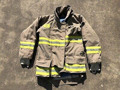 Morning Pride Fire Fighter Turnout Jacket 38 2935 31 Bunker Gear 2763