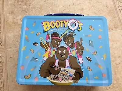 WWE Authentic the New Day BOOTY-O's Tin Metal Lunchbox Lunch Box NEW