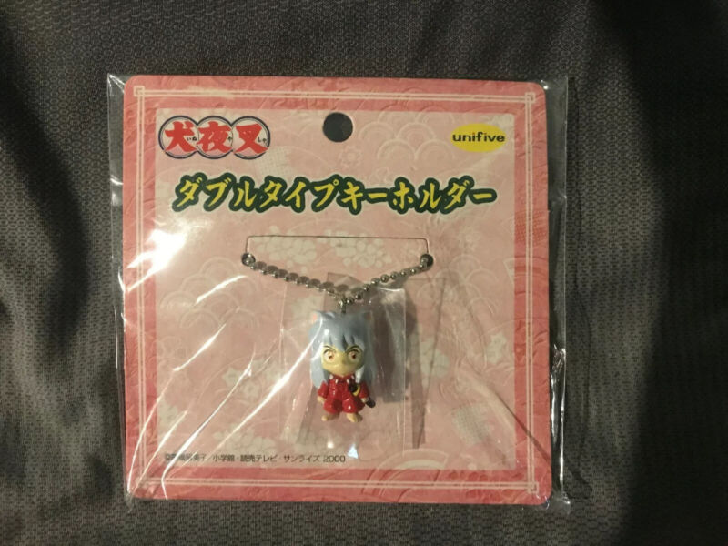NEW Rare Inuyasha Mini Figure Mascot Keychain Official Japan
