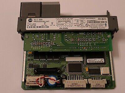 Allen-bradley Slc 500 1747-l532 Plc Processor Module