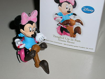 Tangled Up In fun - Minnie Mouse Hallmark Ornament 2012