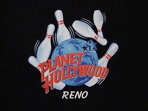 Planet hollywood reno bowling logo souvenir casino for Planet hollywood t shirt