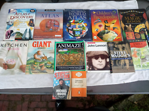 Books $15 the lot (RRP $300)
