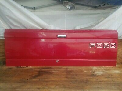 Ford Tailgate 1987-1996 Pickup Truck F150 F250 F350 Red OEM Original Factory