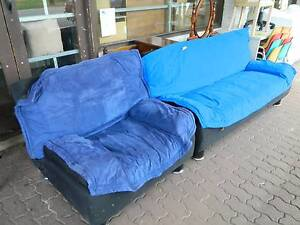 Single & 2 Seater Fold Down Futon Couches  / Bed !!! Woodville South Charles Sturt Area Preview