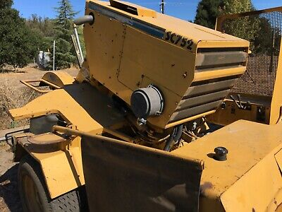 Vermeer 752 Stump Grinder Turbo Diesel
