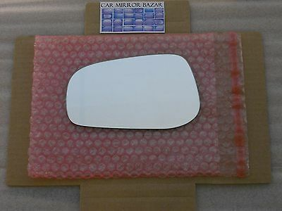 616L Replacement Side View Mirror Glass 04-06 Volvo S60 S80 V70 Driver Side Left ()