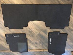 2018 Nissan Titan NEW OEM mats