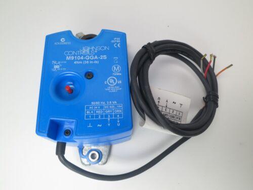 Johnson Controls Electric Non Spring Return Actuator 35 In Lb M9104-GGA-2S 2R
