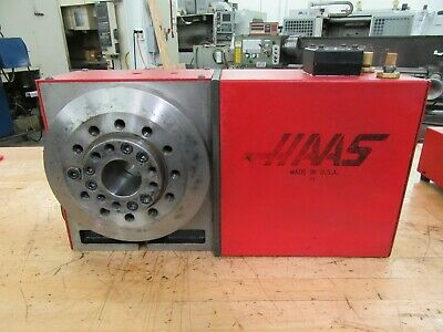 Haas Hrt-a6 Programmable Rotary Table With A2-6 Work Pallet Brush Drive Motor