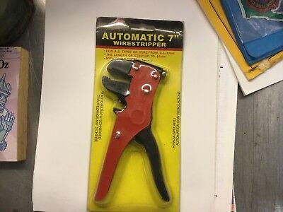 Automatic Wire Striper W Cable Cutter 7