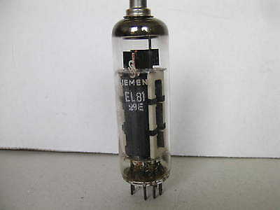 EL 81 Siemens Röhre EL81 Siemens geprüft sehr gut
