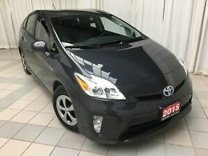 2015 Toyota Prius Leather Package just 31,481 km !