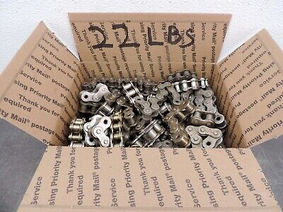 Steel Roller Chain Rc60 Rc50 Pieces Steampunk New Huge Lot 22 Lbs Free Ship