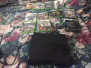 320 gb hard drive with 8 games and one controller OBO