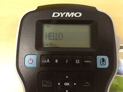 Dymo Labelmanager 160 Hand-held Label Maker 1790415 Immaculate Shape Euc