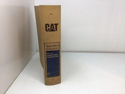 Cat Caterpillar Cb-414 Vibratory Compactor Shop Service Manual Catalog