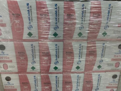 (1) R410a R-410a R 410a Refrigerant 7.5lb Tank New Factory Sealed (MADE IN USA)