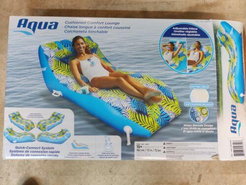Aqua Comfort Water Lounge X-Large Inflatable Pool Float