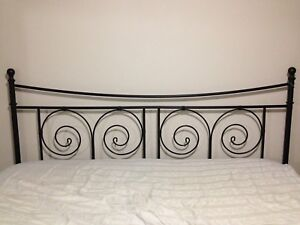 IKEA King metal bed frame