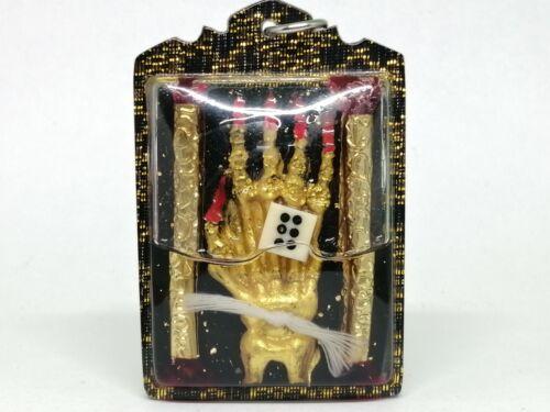 HAND OF GHOST  MAGIC INN VOODOO TALISMAN FOR GAMBLING THAI BUDDHA AMULET
