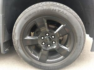 Used (20in) Continental All Season Tires