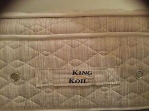 King size mattress Banksia Rockdale Area Preview