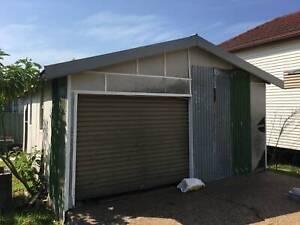Double car garage/Storage Shed/Garage/Vehicle Storage/Workshop/