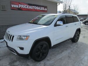2014 Jeep Grand Cherokee LIMITED - HEATED LEATHER - NAVIGATION -