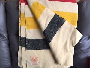 3 Vintage Blankets - Hudson's Bay/Eaton's
