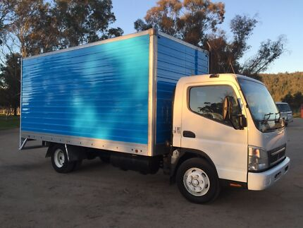 2007 Mitsubishi canter 4.0 pantech truck Mudgee Mudgee Area Preview