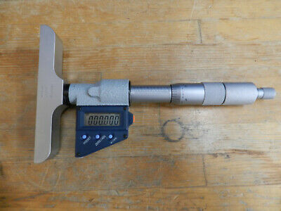 Mitutoyo Digital Depth Micrometer 329-712-30