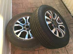 Ford Ranger wildtrak wheels and tyres Prestons Liverpool Area Preview