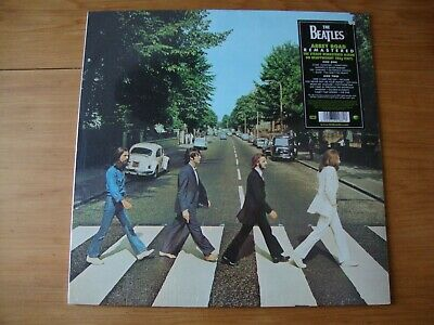 THE BEATLES Abbey Road SEALED 2012 REMASTERED
