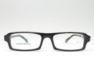 Kunststoffbrille Brillengestell Schwarz Rechteckig Trend Unisex Rahmen 51□18 138