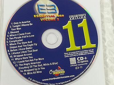 Chartbuster Essential Karaoke Disc E3-11 CDG CD+G Essential 450 3 ()