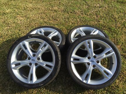 100% Genuine FPV FG MK11 GTP Wheels & Dunlop Tyres Geelong 3220 Geelong City Preview