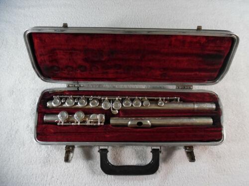 Gemeinhardt M2S Sterling Silver Flute Elkhart Indiana Flute9