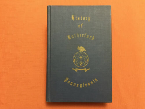 History Of Rutherford Dauphin County Pennsylvania - DiNinni Signed - 1979-EVF - $119.99