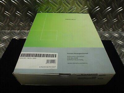Siemens Simatic Software Wincc 6av6381-1bf05-1bx0 V5.1 Sp1