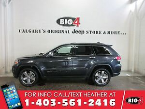 2016 Jeep Grand Cherokee Limited | Leather | Sunroof | Heated Se