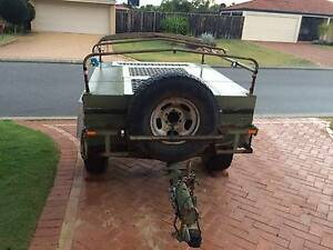 Ex Army Heavy Duty Ultra High Clearance Camper Trailer Project Henley Brook Swan Area Preview