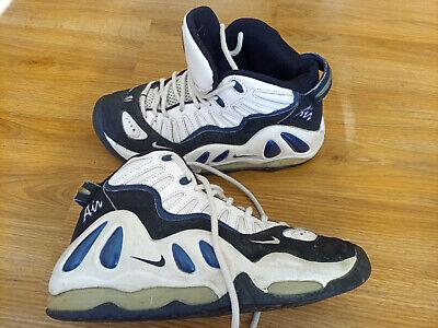 Mens Nike Air Max Uptempo '97 White Black College Navy OG *RARE*